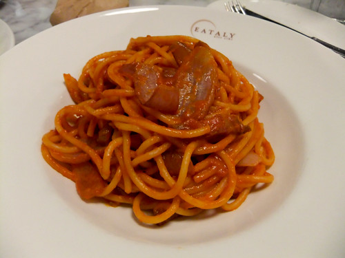 Bucatini all'Amatriciana, La Pasta, Eataly