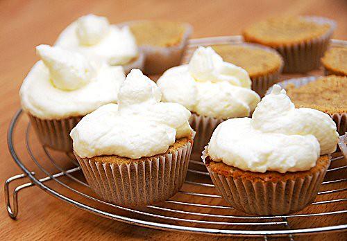 cupcakes speziate alle patate dolci