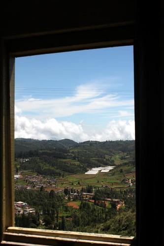 Picture postcard window