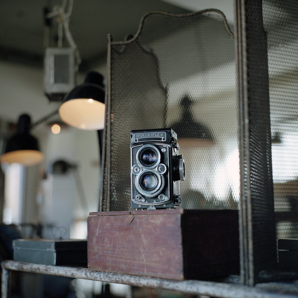Rolleiflex with great history...