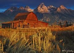 John Moulton's Barn (P. Oglesby) Tags: autumn mountains landscapes barns f25 grandtetonnp thehighlander godlovesyou coth mormonrow absolutelystunningscapes coth5 mygearandmepremium mygearandmebronze mygearandmesilver photocontesttnc11