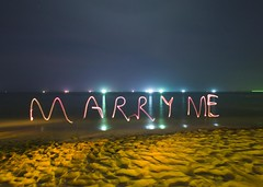 She said yes (Alex Bamford) Tags: beach vietnam proposal engaged phuquoc lighttrail marryme squidfishing flickrwedding flickrromance lissyloola