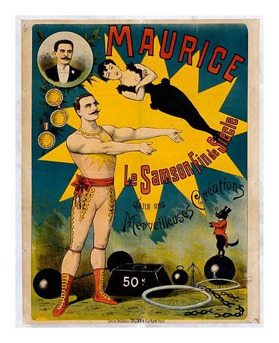015-Maurice el Samson del nuevo siglo- siglo XIX-Les Siles maison du libre et de l'affiche
