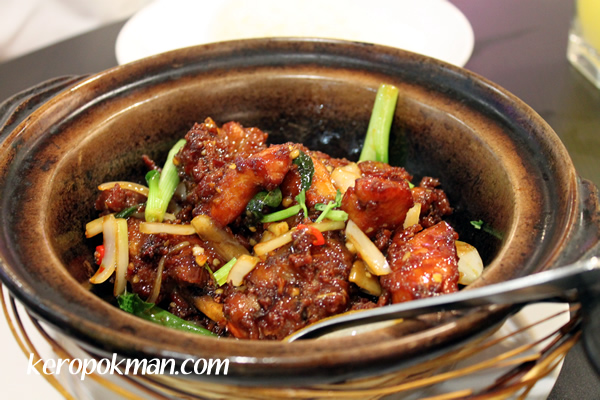 Claypot Golden Chicken