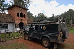 Landy at Shiwa Ngandu
