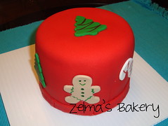Mini Christmas Cake - view 2
