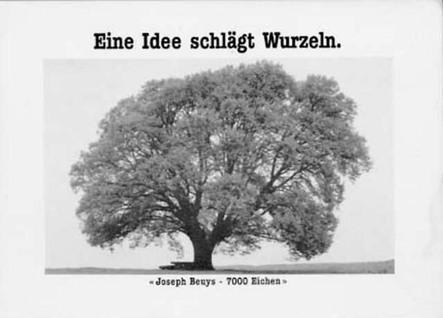 Art of urban nature: Curating the city with the work of Joseph Beuys