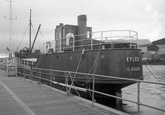 "MV ""Kyles""  at Braehead (Scottish Maritime Museum - SMM) Tags: building history museum scotland clyde boat sailing ship paddle scottish commons vessel steam maritime sail steamer cr"
