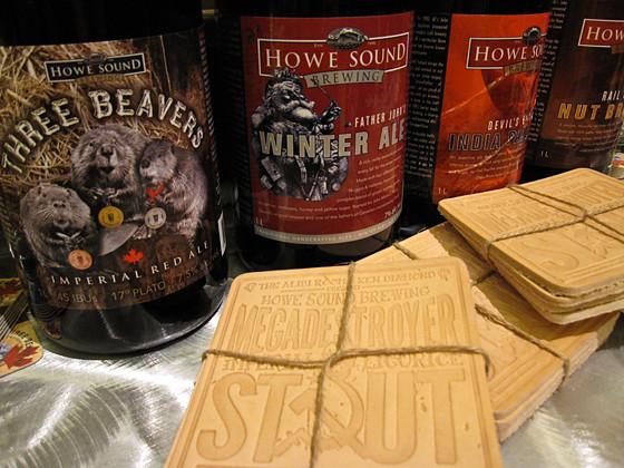 Howe Sound Brewery beers
