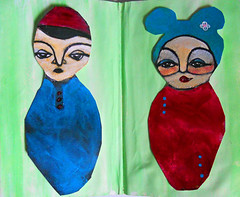 The Sketchbook Project 2011- kokeshi