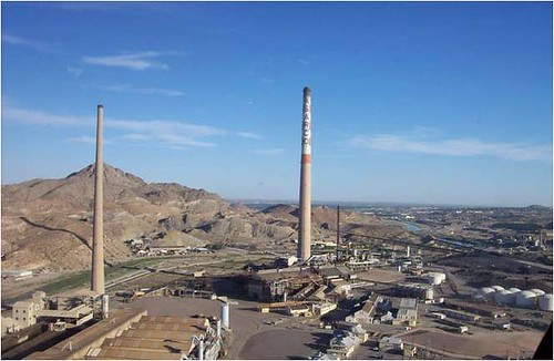 the ASARCO site (from Connecting El Paso)