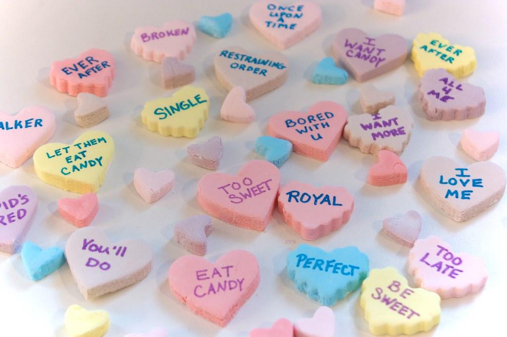 The Sugartarian: Homemade Conversation Hearts