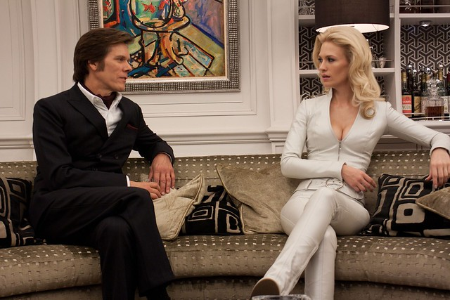 X-Men First Class Kevin Bacon y January Jones