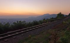 Roll into the sunset (Sai Achanta) Tags: sunset india landscape 1740mm vizag andhrapradesh kailasagiri vishakhapattanam 5dmarkii