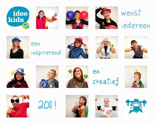 Idee Kids wenst iedereen een Happy Newyear