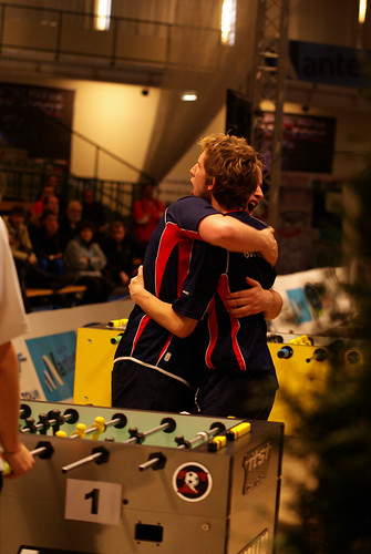 2009_wcup Brits Rob Atha & Joe Hamilton Celebrate Doubles Win Over Germany(BIG)