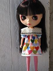 Exaggerated Collar Sailor Dress