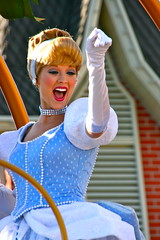 Cinderella (abelle2) Tags: princess disney parade disneyworld cinderella wdw waltdisneyworld magickingdom disneyprincess disneyparade princesscinderella celebrateadreamcometrueparade