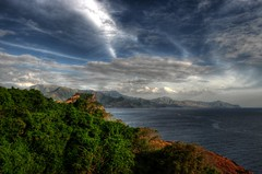 capones island ,zambales Philippines (Bosso Baron) Tags: sea sky seascape mountains nature clouds island philippines greens landsape zambales capones joelyonzon