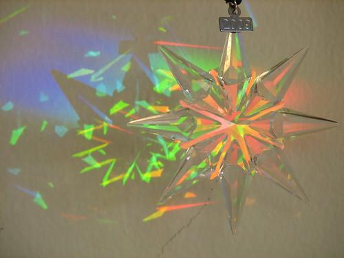 snowflake rainbows