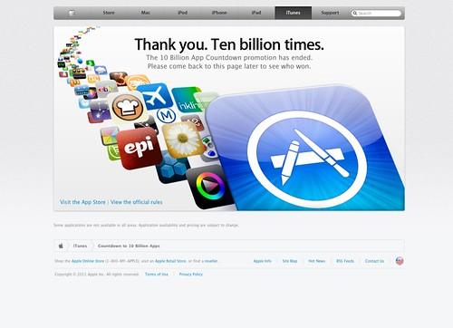 10 Billion App Countdown