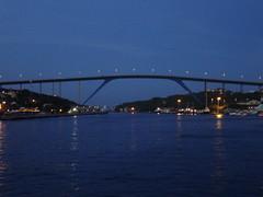 """""""Puente de la Bahía"""". Curaçao                         """"Mar Caribe"""" (alejandra.rh) Tags: ocean bridge blue puente island mar curaçao isla curazao caribe"""
