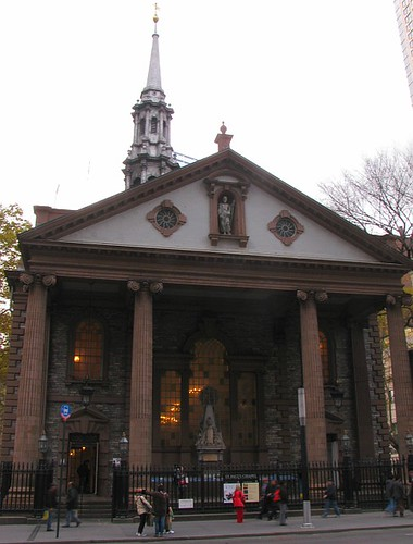 St Pauls Chapel Lower Manhattan
