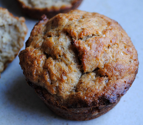extra banana-y muffins