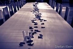 empty. (kleinARTig) Tags: white black macro contrast photoshop 50mm hall dance nikon desk bokeh 14 decoration gimp adobe tanz micro fixed nikkor length makro tisch kontrast schwarz tanzen lightroom dekoration focal schwäbisch weis ewg schulball offenblende