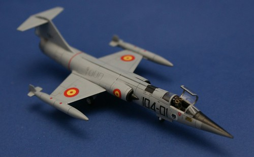 Revell 1/144 - F-104 Starfighter - Spanish Air Force - Complete - 1