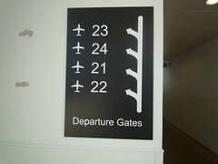 Odd Gate Numbering