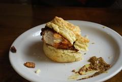 366 365 2 (alittlek) Tags: birthday chicken biscuit pinestatebiscuits
