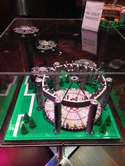 New York State Pavilion in Legos! (karlnorling) Tags: sculpture newyork lego state queens pavilion