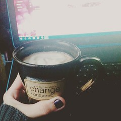 My Sunday consists of enjoying my newfound love of vanilla lattes, Grey's Anatomy, my heating pad and a smattering of awesome meds, and blogging work. (Jenn ) Tags: ifttt instagram