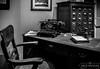 Estudio Antiguo (Nicolás Mancini) Tags: estudio oficina bn antiguo máquinadeescribir escritorio homeoffice old bw