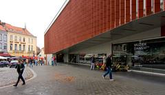 _DSC6457 (durr-architect) Tags: bruges belgium concert hall robbrecht daem aday16 group architecture modern building brickwork brugge outdoor facade street music theatre drama chamber