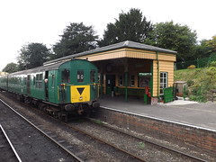 Hampshire Unit 1125 at Ropley (adrian77014) Tags: 1125 class205 midhantsrailway hampshireunit ropley