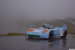 From Targa Florio to the Alps (Iceman_Mark) Tags: porsche 908 jo siffert gulf blue orange bergrennen hill climb motorsport classic racing bernina pass granturismo 2016 autumn pontresina engadin graubnden switzerland alps