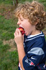 That First Bite (c-g-b) Tags: apple eating bite picking orchard new hampshire nh londonderry