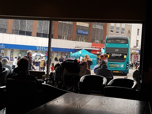 At work. Starbucks. Southend. 8 Oct'16