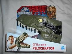 Jurassic World Veleciraptor Head Puppet (ItalianToys) Tags: jurassic world park velociraptor puppet dinosaur dinosauro toy toys giocattolo giocattoli