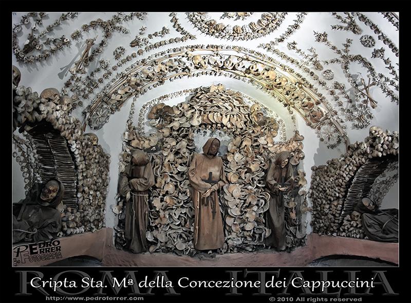 Roma - Santa María della Concezione dei Cappuccini - Cripta - Capilla 2