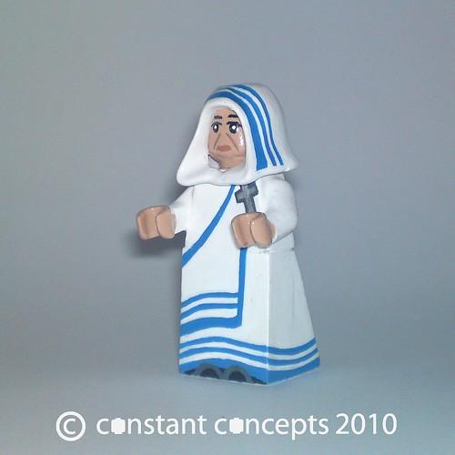 2010 Mother Teresa custom minifig