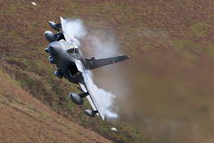 67 Wing Swept RAF Tornado ZG752 (PhoenixFlyer2008) Tags: wales speed training flying loop low neil images level bates tornado vapour raf squadron mach panavia gr4 gogle 2ac marham lfa7