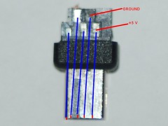 Nikon D90 10 Pin Connector Pinout (Bottom)