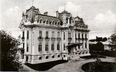 Palatul Cantacuzino - vazut aerian