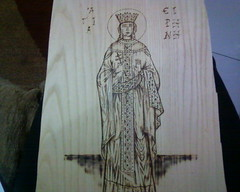 .  -  (AEGEOTISSA) Tags: wood art pyrography   httpstephanieareliblogspotcom