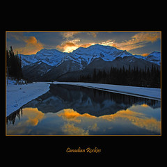 Canadian Rockies #029 (alexander.garin) Tags: lake canada mountains reflection nature landscape rockies nikon lakes alberta canadianrockies bestcapturesaoi elitegalleryaoi