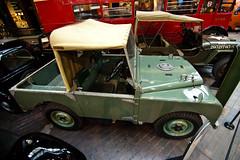 1948 Land Rover Prototype R.04 (Peter Bromley) Tags: england cars 1948 car museum nikon nikond70 rover national prototype land series motor landrover beaulieu nationalmotormuseum 2010 bromley series1 seriesi r04 buly beuly tokina1116mmf28