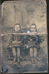 tintype Keim 12 (rkeim38) Tags: family ny vintage print bradford grandmother cabinet antique 1800s victorian tintype prints cartedevisite titusville allegany keim leonora caufield alleganyny clarencekeim keimfamily leonoracaufieldkeim